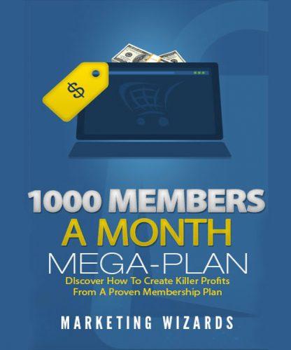 1000 Members Month Mega Plan