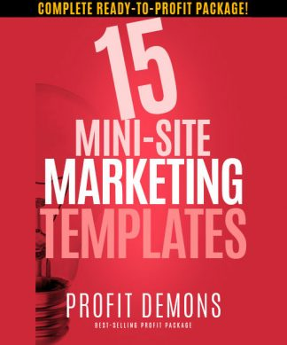 15 Mini Site Marketing Templates