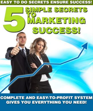 5 Simple Secrets Marketing Success