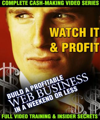 Build A Profitable Web Business In A Weekend